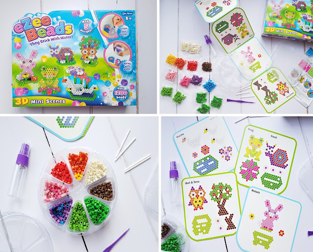 John Adams Craft Club on Facebook, eZee Beads 3D Mini Scenes, craft kits for kids Christmas gifts