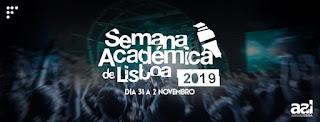 Cartaz Semana Académica de Lisboa 2019