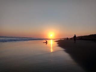 pantai glagah bukan