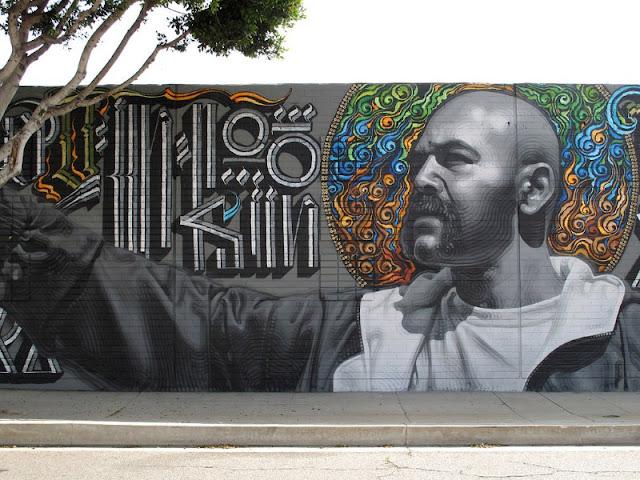 Реалистичные рисунки на стенах. El Mac 10