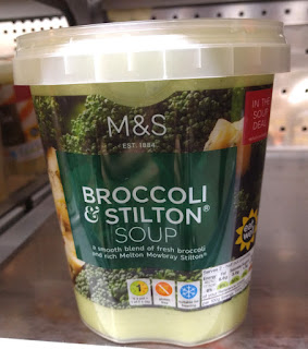 M&S Broccoli & Stilton Soup