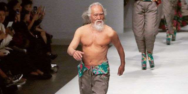 80-Year-Old Runway Model Shares His Secrets for Healthy Aging