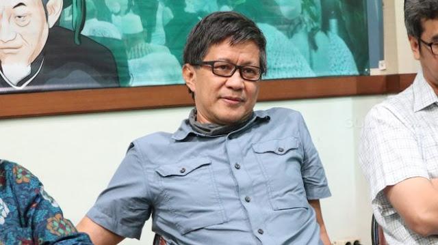 Rocky Gerung ke Kabinet Jokowi: Itu Rekonsiliasi Palsu