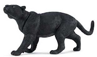 large black panther toy miniature