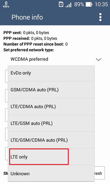mode lte only menandakan kamu hanya bisa menggunakan jaringan 4g saja, tidak bisa pakai 3g atau 2g