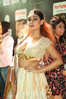 Apoorva in Cream Deep Neck Choli Ghagra WOW at IIFA Utsavam Awards 2017  (Telugu and Kannada) Day 2  Exclusive 23.JPG