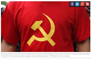 Di Rancapanggung, Penjual Kaos Bergambar Palu-Arit Ditangkap Polisi