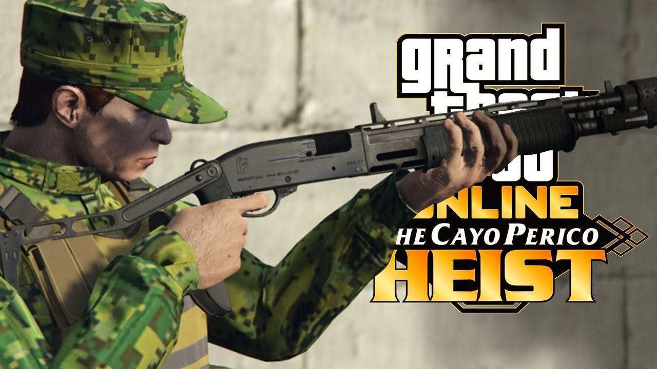 GTA Online: The 3 new weapons from the Cayo Perico Heist and where you can find them