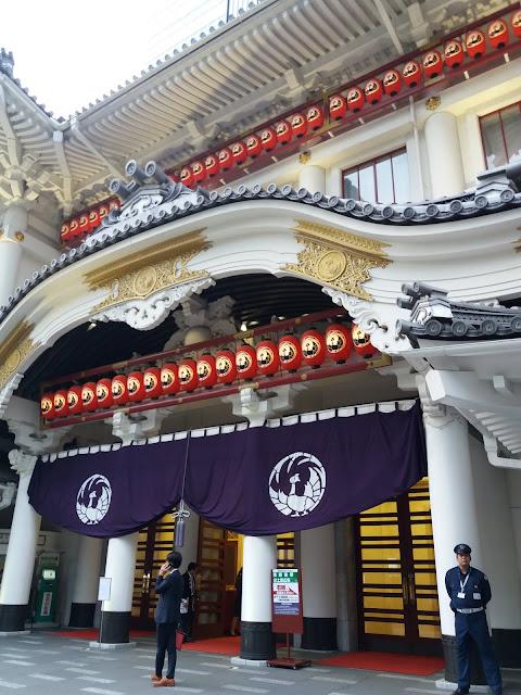 Kabuki-za teatro tokyo
