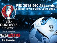 PES 2016 DLC Adboard + EURO 2016