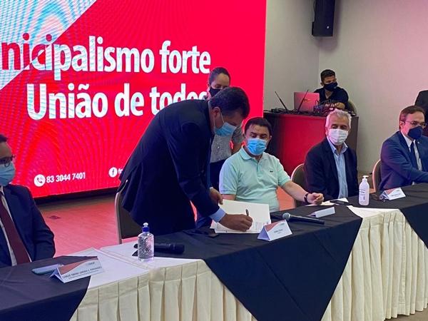 George Coelho é empossado como presidente da Famup em novo biênio e destaca desafio de expandir alcance da Federação
