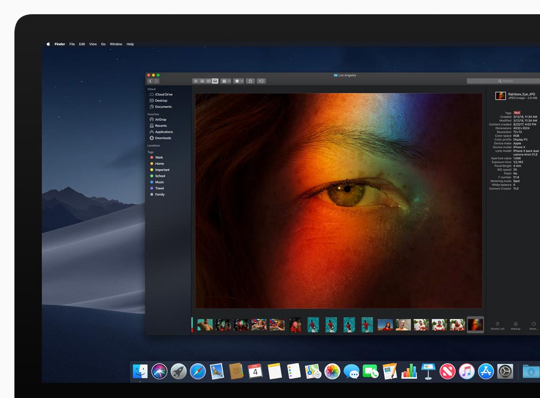 Dark Mode dengan Fitur macOS Mojave
