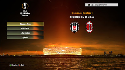 PES 2018 New Europa League Graphic & Intro​ by Ginda01