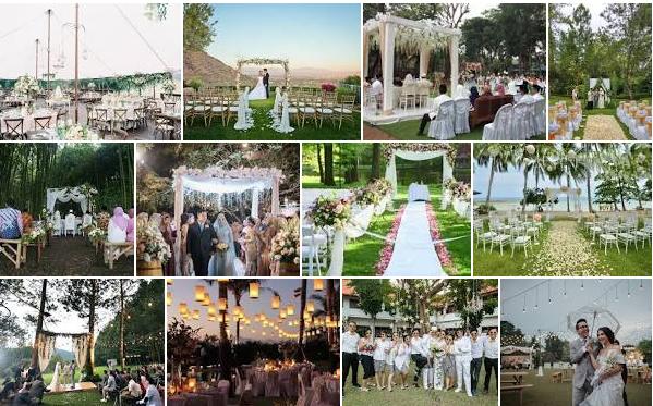 Pernikahan Outdoor Yang Sederhana