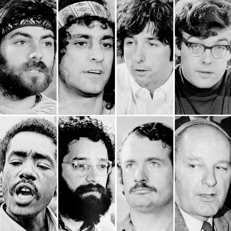 Os verdadeiros participantes de Os 7 de Chicago