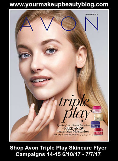 Shop Avon Skincare Flyer lots of savings. Don't miss out & check it out.