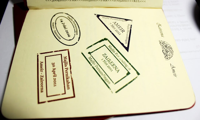 design kad kahwin murah kreatif