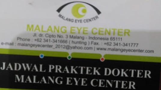 Malang Eye Center Mec Spesialis Mata Terbaik Di Kota Malang Review