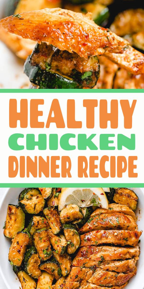 Healthy Chicken Dinner Recipe - #chicken #recipe - Juicy and flavorful, this healthy chicken recipe is perfect for summer BBQ, memorial day cookout or any weeknight dinner. This healthy chicken dinner is prepped on the stove using only one pan and a handful of easy to find ingredients. Paleo, low carb and keto friendly – You will love the flavors. Enjoy! #easyhealthydinner