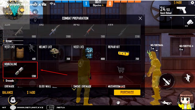 Advance Server Free Fire Apa Fungsi Dari Horizaline FF