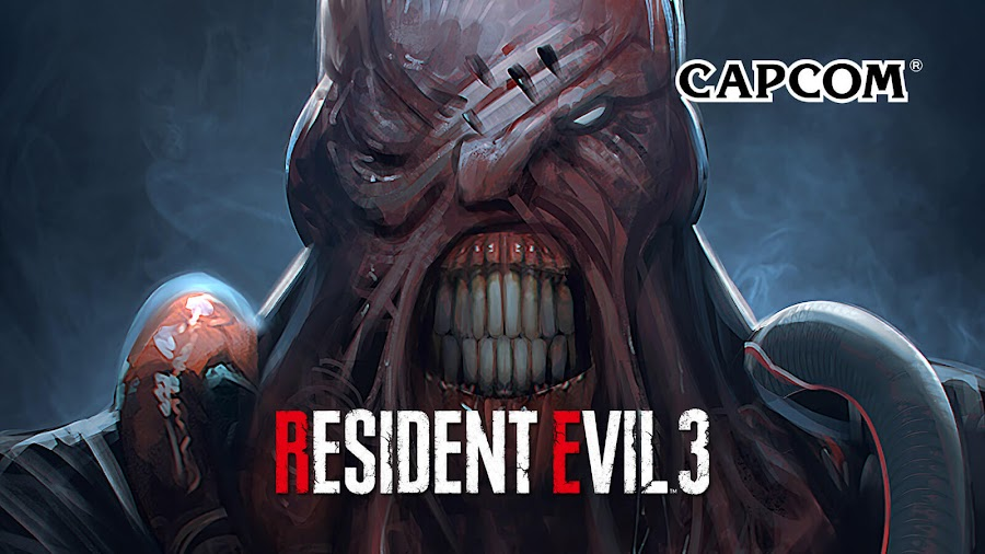 resident evil 3 remake nemesis concept art tyrant survival horror capcom ne-α type parasite pc steam ps4 xb1