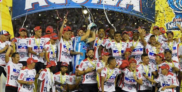Junior, campeón de la Copa Águila 2017