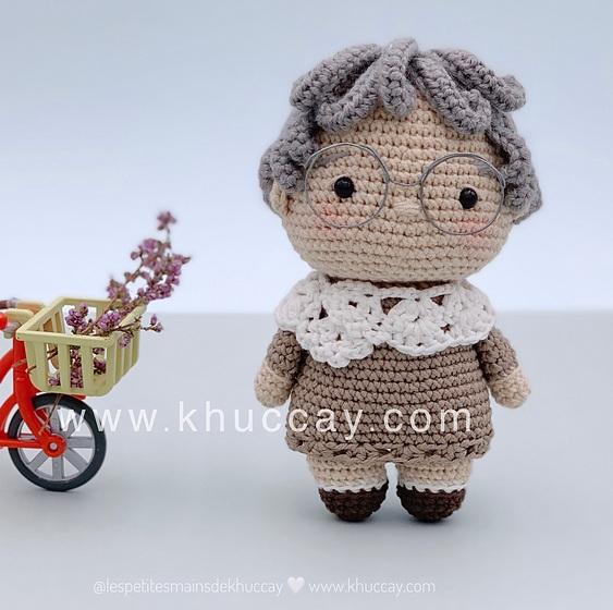 Описание вязания крючком кукольной пожилой пары (8)
