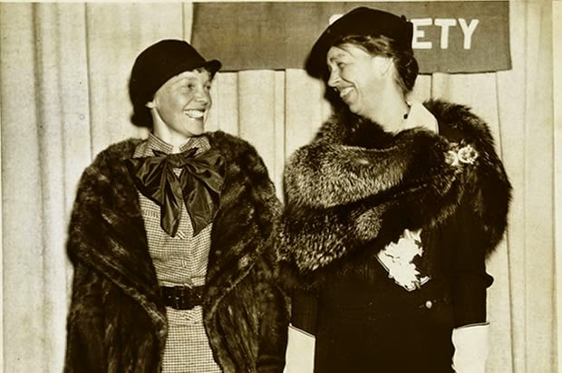 Amelia Earhart And Eleanor Roosevelt Plane