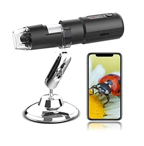 KFF Wireless Digital Microscope for iPhone