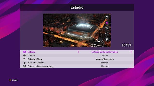 Santiago Bernabeu | PES2020 | PC | By MJTS