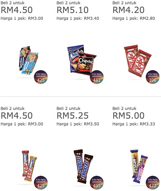 Petronas Kedai Mesra 2nd Item 50% Discount Offer