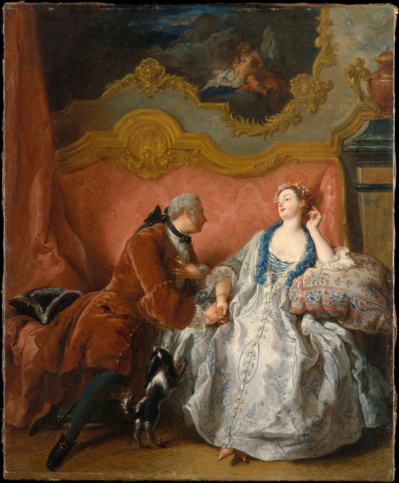 """Analiza kostiumologiczna: Jean-François de Troy """"Deklaracja miłości"""" (1724)"""