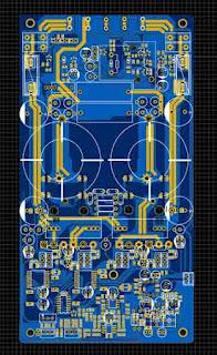 PCB Layout Class-D Fullbridge
