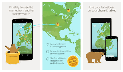 Tunnelbear Android