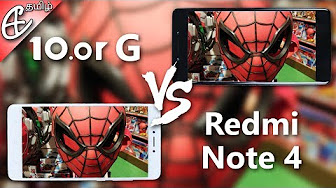 Redmi Note 4 vs 10.or G / Tenor G BLIND Camera Comparison!