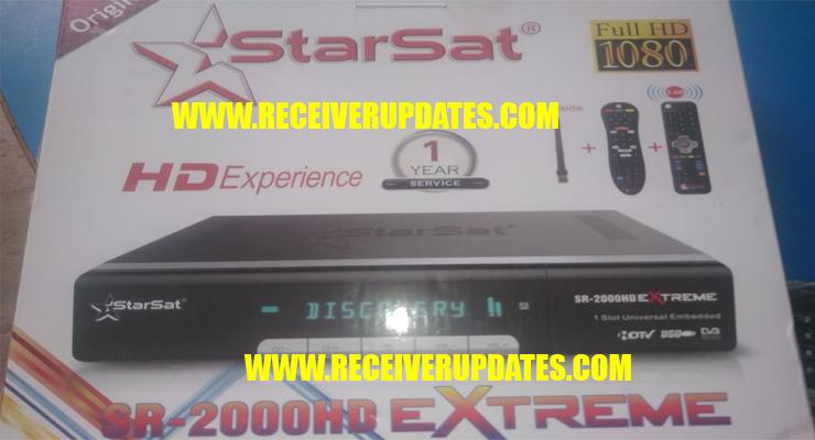STARSAT SR-2000HD EXTREME RECEIVER NEW SOFTWARE V2 58 TEN SPORTS OK