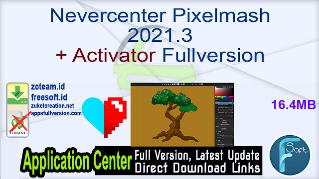 Nevercenter Pixelmash 2021.3 + Activator Fullversion