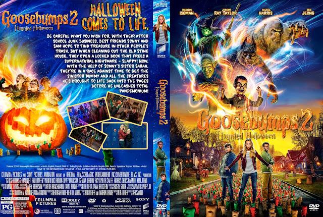 Goosebumps 2: Haunted Halloween DVD