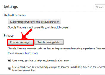 how to disable websites asking for your location in web browser