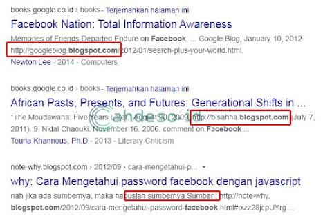 Mencari Blog Zombie dari Media Sosial
