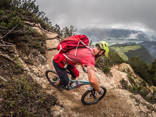 Trail MTB Gratl Spitze Tirol Unterland Kundl Mountainbike Tour