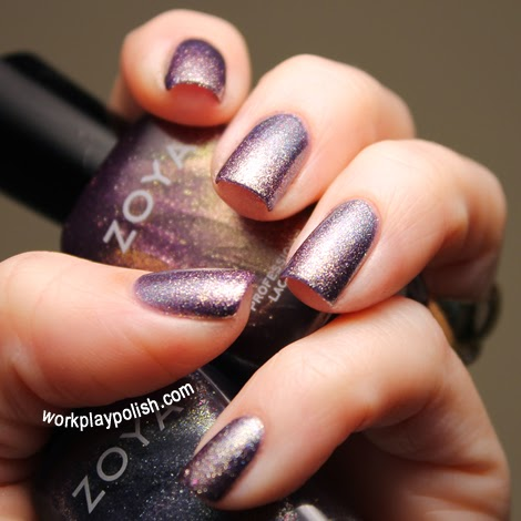 Zoya Fei Fei and Daul Gradient Nail Art