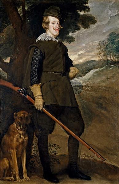 Диего Веласкес - Портрет Филиппа IV в охотничьем костюме (ок.1635)