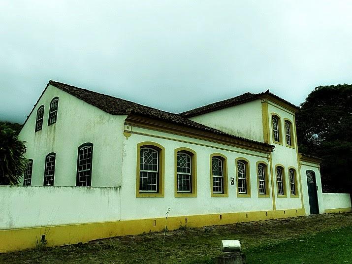 O prédio do Museu Etnográfico faz parte do conjunto arquitetônico colonial de Biguaçu