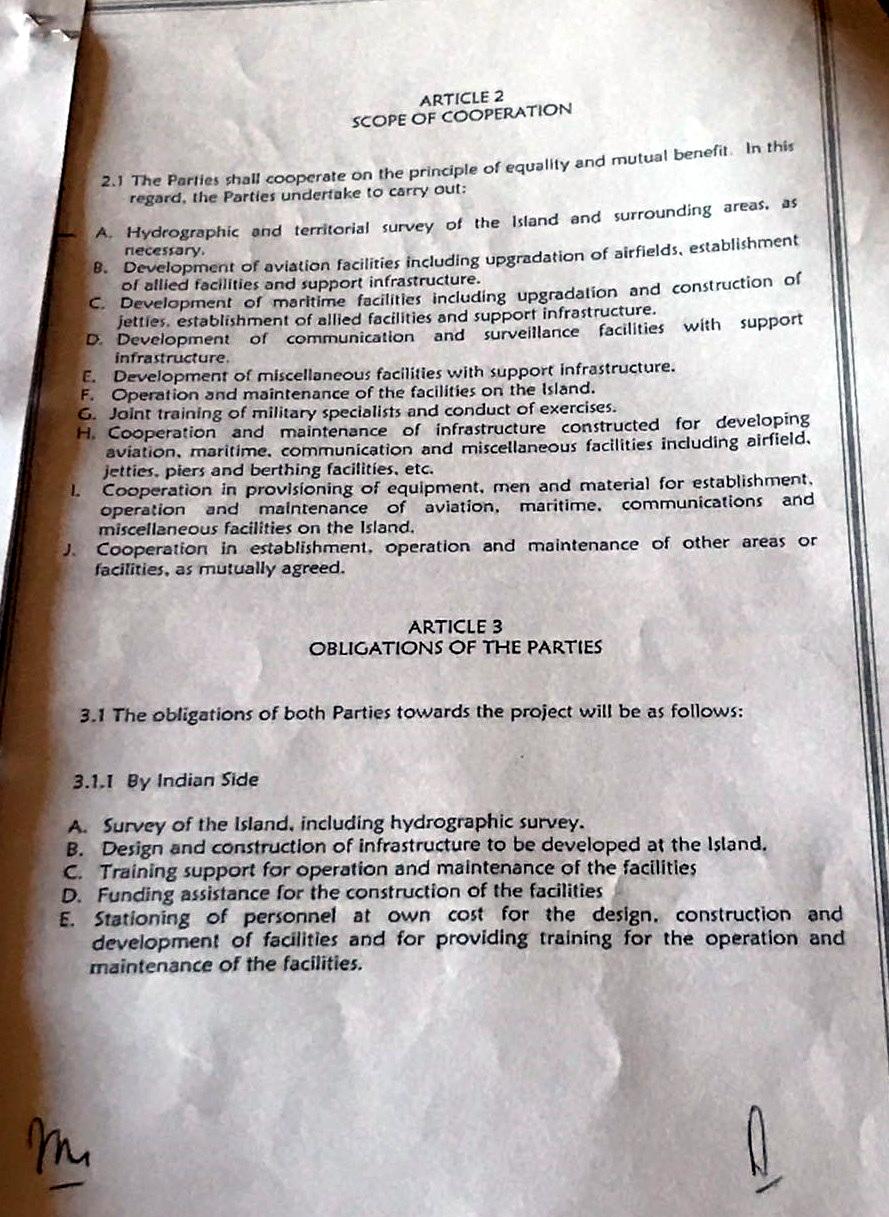 Seychelles Voice Leaked 2015 Original Seychelles India Agreement