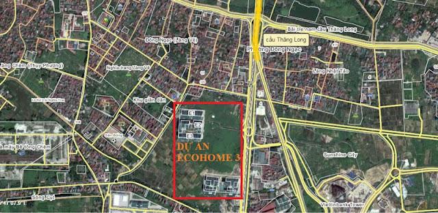 Vị trí dự án Ecohome 3