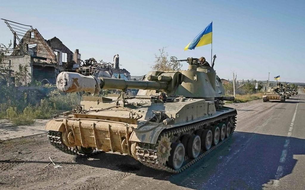 152-мм САУ 2С3 Акація