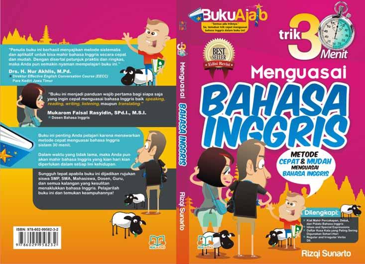 Godhong Teles Desain Cover Buku Bahasa Inggris