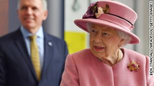 94 year old Queen Elizabeth carries out first royal engagement in months without wearing a mask