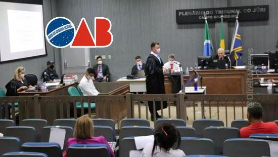 oab repudia depreciativas promotor briga advogado